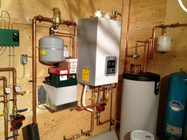A sample of a commercial water system by Ron Thompson Plumbing